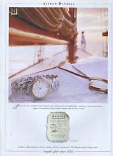 Alfred Dunhill  Watch 1995 Magazine Advert #4027
