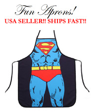 Superman Super-Man Marvel Comics Super Hero Kitchen Cooking Dinner Cuisine Apron