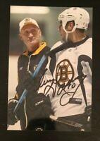 CRAIG RAMSAY NHL Boston Bruins Hockey Auto Autographed Signed 4x6 Photo