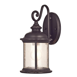 Westinghouse 6230600  New Haven One-Light Exterior Wall Lantern  on Steel wit...