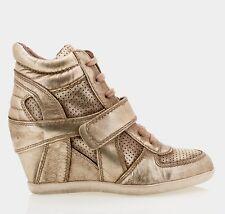 ASH Bowie Ter leather wedges sneakers shoes scarpe zeppa donna LTD EDT 39 BNIB