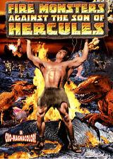FIRE MONSTER AGAINST SON OF HERCULES MOVIE DVD =NEW/SEALED=
