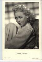 CHARLOTTE DAUDERT Schauspielerin um 1950/60 Porträt-AK Film Bühne Theater