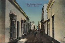 Tarjeta Postal Fotográfica. ISLA CRISTINA. Huelva. Calle del Carmen.