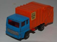 Matchbox  Lesney  n° 38 camion poubelle refuse truck  ancien