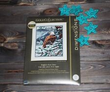 Dimensions Counted Cross Stich Gold Collection Eagle's Eye View 35117