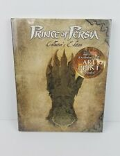Prince of Persia Collector's Edition Official Game Guide Prima Games Hardcover