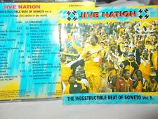 JIVE NATION - THE INDESTRUCTIBLE BEAT OF SOWETO VOL 5 - 18 TRK CD - AFRICAN
