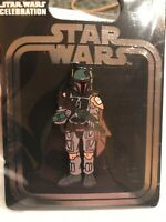 Sold Out STAR WARS CELEBRATION 2019 CHICAGO EXCLUSIVE BOBA FETT INCENTIVE PIN