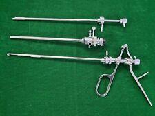 Laparoscopic Storz-Type Stone-Punch Ovalic Shaeth 24FR Surgical Instruments