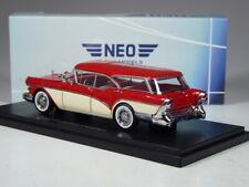 (KI-08-23) Neo Scale Buick Century Caballero Kombi rot/creme in 1:43 in OVP