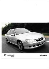 VAUXHALL OMEGA MV6 PRESS PHOTO 'BROCHURE RELATED'