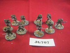 Bolt Action 10 Man US Infantry Squad, Rifles, NCO SMG Plastic Ref JG707