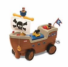Little Tikes Play n Scoot Pirate Ship * NEW  *  Sit and Scoot
