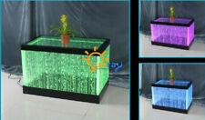 Design Tisch Couchtisch Wasser Säulen Säule Water Sofa Tische LED Beleuchtet Neu