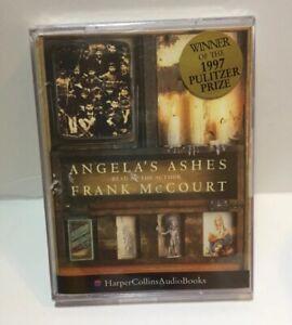 Angela's Ashes A Memoir by Frank McCourt - 2 Cassettes, Abridged - NEW - SEALED