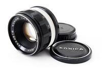 Exc++++ KONICA HEXANON 52mm f/1.8 Lens w/Front Cap (Konica Genuine) JAPAN # 260