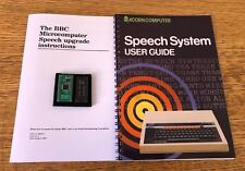 ACORN BBC MODEL B & B+ - SPEECH UPGRADE, MANUAL &  NEW TMS6100 - KENNETH KENDALL