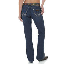 Wrangler Denim Regular Size Boot Cut Jeans for Women
