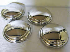 1942 Ford Car 1946 Pickup Truck Ford Logo Stainless Hubcap Set for 4 Wheels