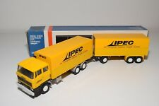 ± LION CAR DAF 2800 TRUCK WITH TRAILER TNT IPEC NEAR MINT BOXED.