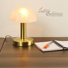 Klassische Tischleuchte Touch Funktion Tischlampe Nachttischleuchten Messing