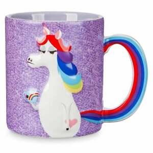 Disney Parks Inside Out Famous Unicorn Ceramic Coffee Mug New