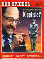 Der Spiegel Nr. 7/2017: Merkeldämmerung: Kippt sie? uvm. 11.02.2017