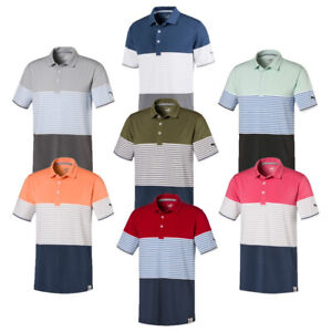New Puma Taylor Golf Polo DryCell Cloudspun FusionYarn Wicking   Style 595790