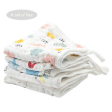 Saliva Cloth Towel Feeding Scarf 6 Layer Toddler Baby Infant Bibs Cotton Soft