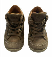 ECCO Size 21 Childs Beige/Brown Boots