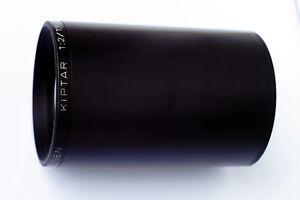 SERVICED: Black ISCO-Göttingen KIPTAR 2/100 full frame adaptable, clean, remarks