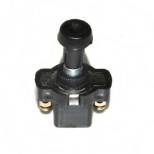 Universal Black On Off Long Push Pull Button Switch Car Dash Motorcycle 12V 24V