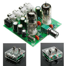Acrylic Case 6J1 Valve Preamp Tube PreAmplifier Board Headphone Amplifier Buffer