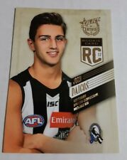 2017 SELECT CERTIFIED ROOKIE CARD RC57 JOSH DAICOS COLLINGWOOD 004 / 220 LOW JG