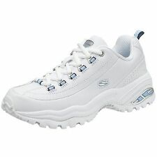 Skechers Leather Medium (B, M) Athletic Shoes for Women