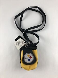 Pittsburgh Steelers Purse Plus Touch Phone  ID Wallet Charm 14 Compact NFL