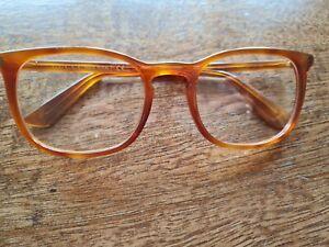 Gucci GG0122O Amber Women Men Unisex Frame Glasses Size 54x21x145