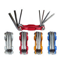 Folding Bike Bicycle Repair Hex Wrench Set Screwdriver Multi-function Tools US