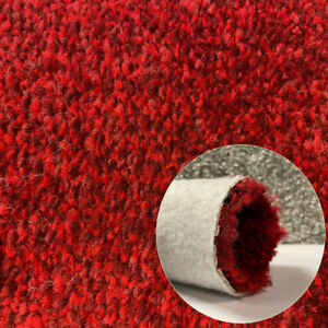 Clearance   Carpet Thick Luxury Soft Condor Any Room Carpets m² Flecked Red