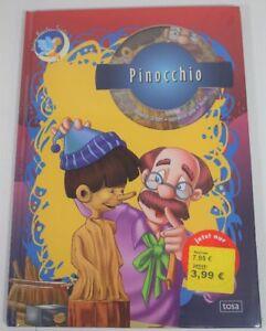 Kinderbuch - Kind - Baby - Tosa Pinocchio Buch mit CD ROM - Neu