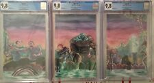 Ogre 1, 2, 3 CGC 9.8 Ltd To 10 Virgin Connecting Cover Set! Source Point Press