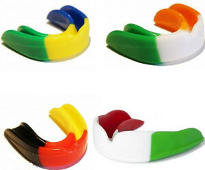 Air Gel Gum Shield Mouth Guard Boxing MMA Adult Rugby Boxing