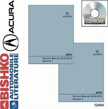 2010 2011 2012 Acura MDX Shop Service Repair Manual DVD Engine Drivetrain Wiring