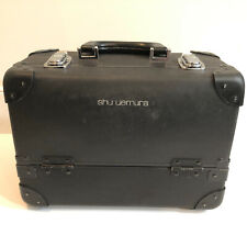 Shu Uemura Professional Make Up Box BLACK Travel CASE Made in Japan