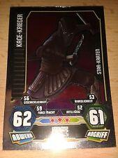 Force Attax Star Wars Serie 3 Star-Karte 210 Kage-Krieger Sammelkarte