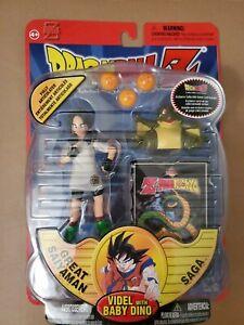 Dragonball Z action figure Videl With Baby Dino great saiyaman saga Irwin toys