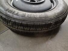 19 Infiniti Qx60 Wheel 18x4 (compact spare) w/Tire