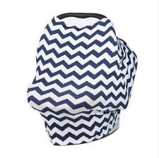 Car Seat Cover Baby Cover Canopy Nursing Cover Multi-Use Stretchy Shopping Cart