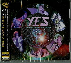 YES-BUENOS AIRES. ARGENTINA 1985-IMPORT 2 CD G27